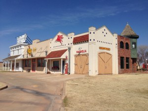 Replica of a Route 66 store